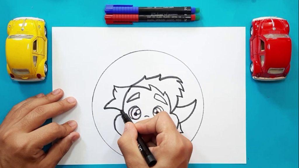 Как нарисовать Барли Лайтфута 10