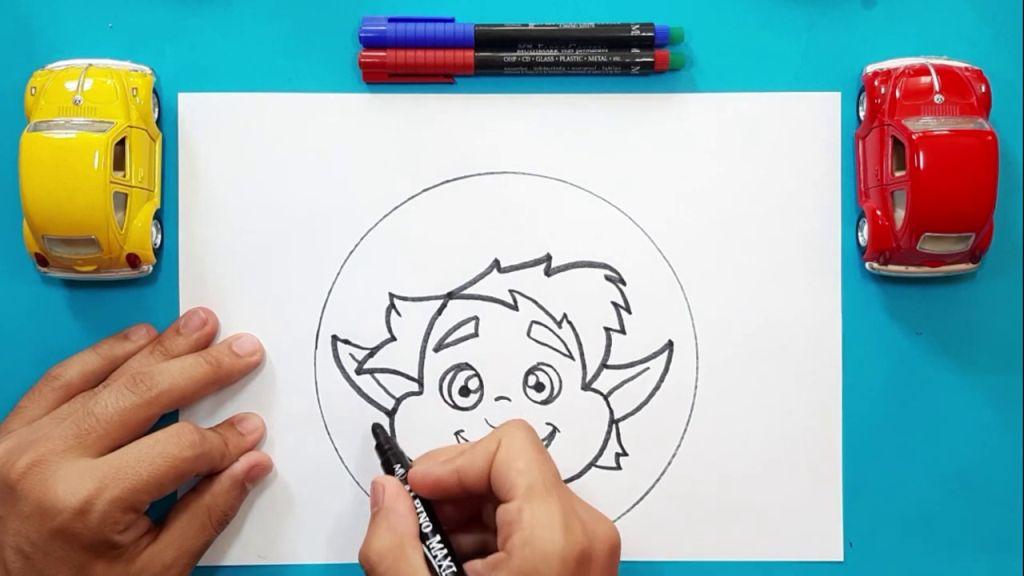 Как нарисовать Барли Лайтфута 11