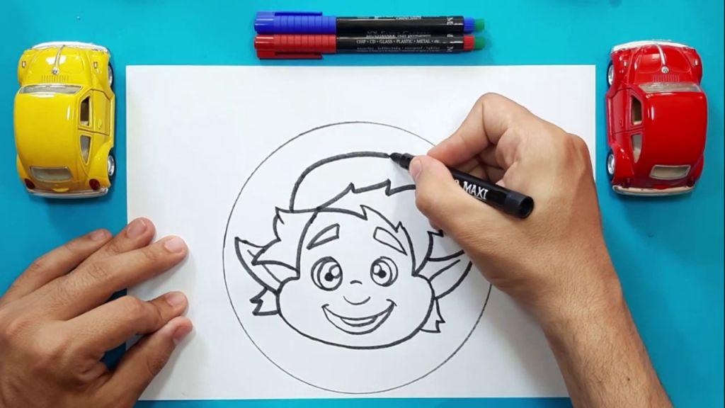 Как нарисовать Барли Лайтфута 12