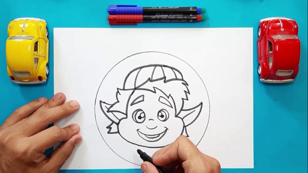 Как нарисовать Барли Лайтфута 13