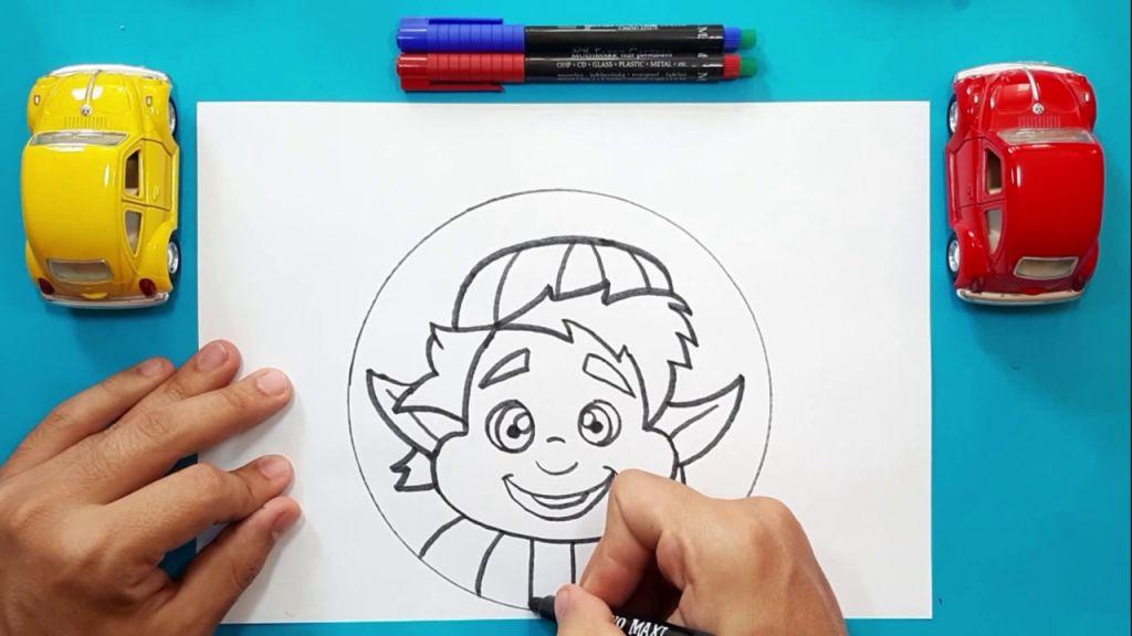 Как нарисовать Барли Лайтфута 14
