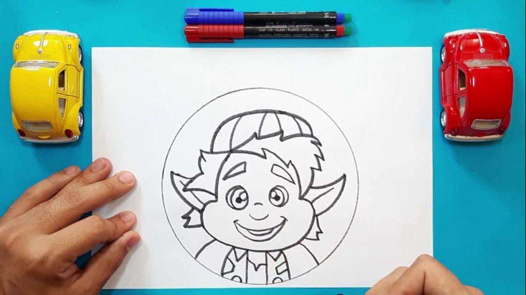 Как нарисовать Барли Лайтфута 15
