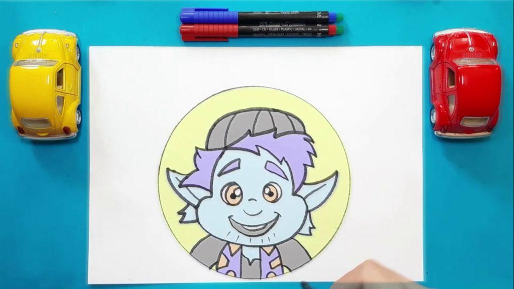Как нарисовать Барли Лайтфута 16