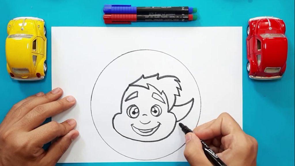 Как нарисовать Барли Лайтфута 9