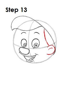 Как нарисовать пиноккио 13