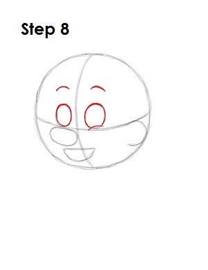 Как нарисовать пиноккио 8