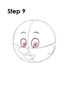 Как нарисовать пиноккио 9