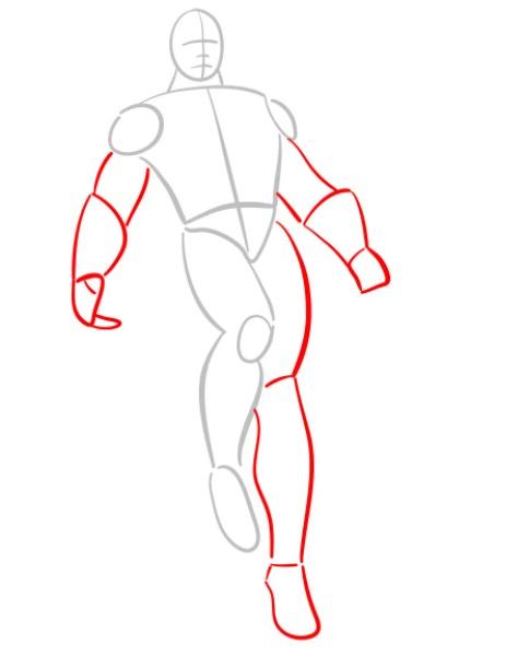 как нарисовать черного адама 2