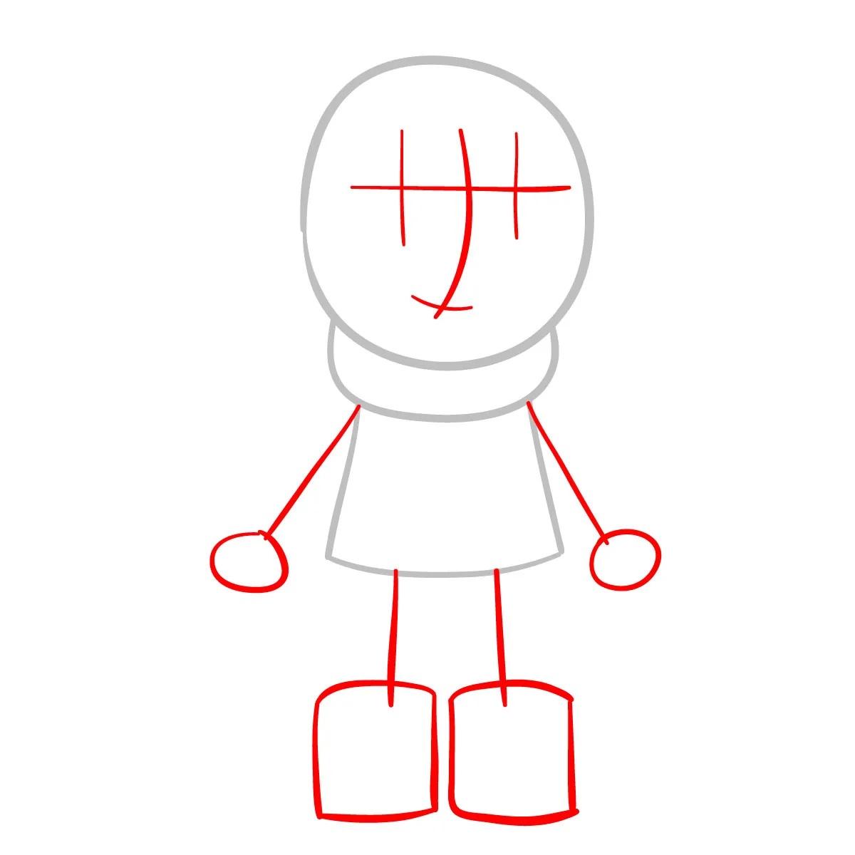 Как нарисовать Хильду 2