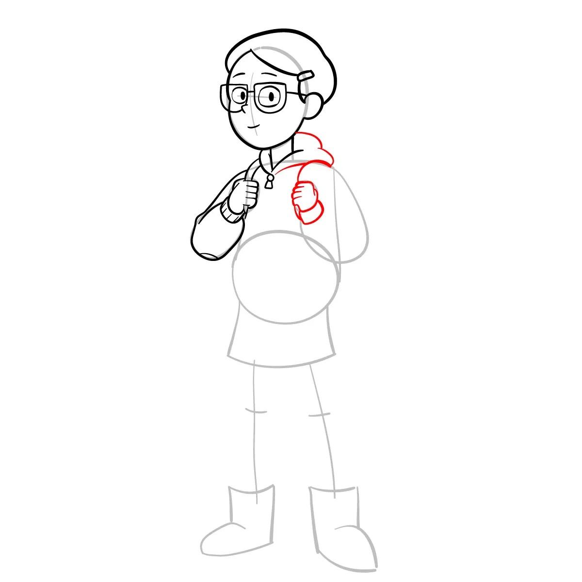 Как нарисовать Тюльпану Олсен 8