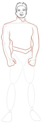 Как нарисовать Хоумлендера 4