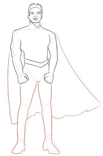 Как нарисовать Хоумлендера 5