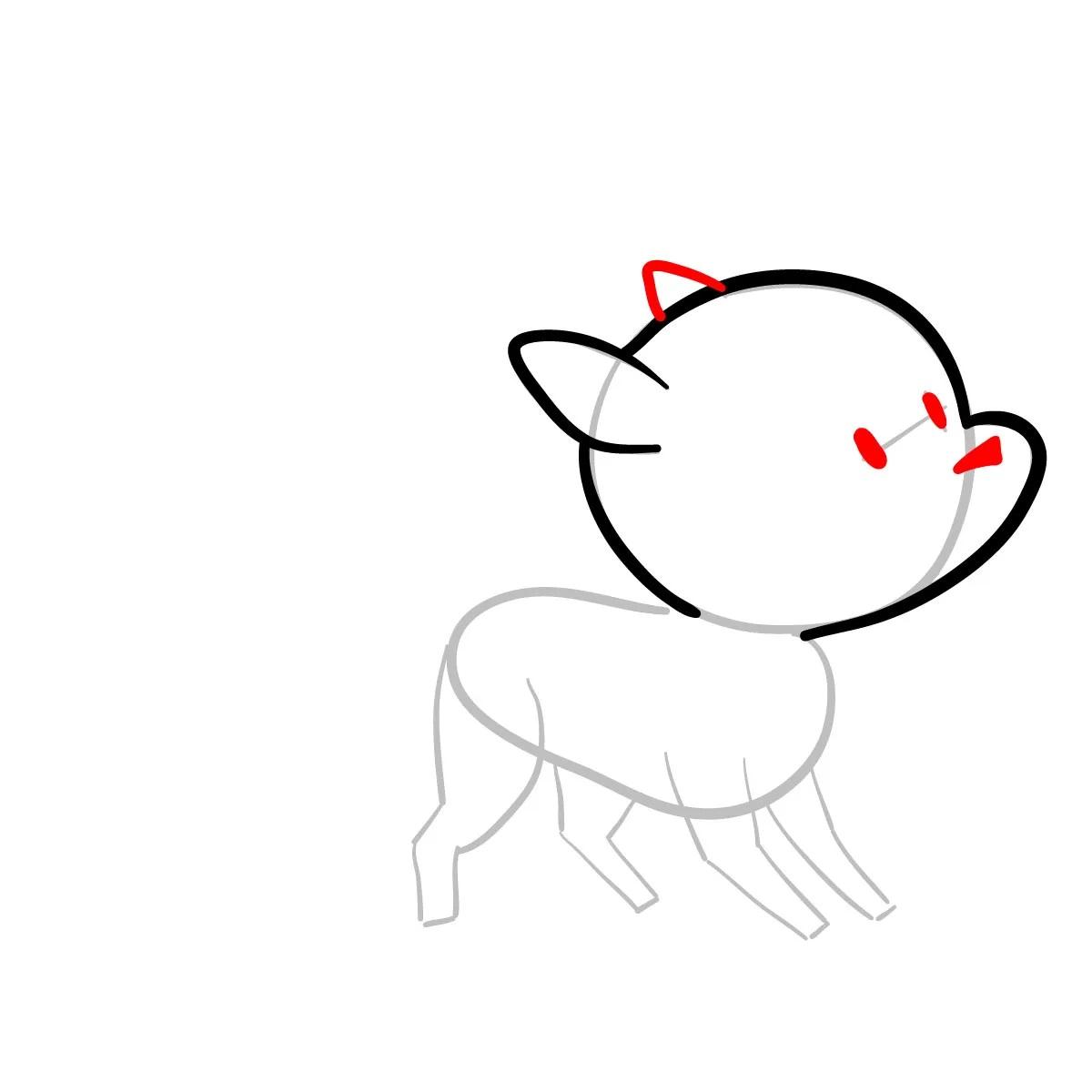 Как нарисовать Твигга 4