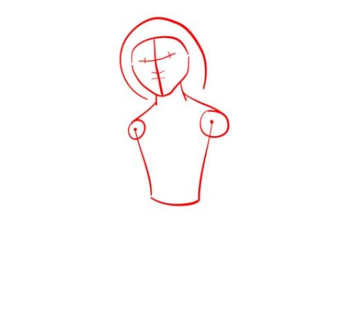 Как нарисовать Малого из мультфильма 1