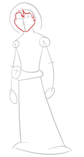 Как нарисовать Малого из мультфильма 3