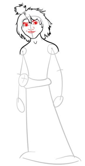 Как нарисовать Малого из мультфильма 6