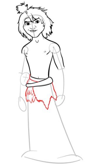 Как нарисовать Малого из мультфильма 8