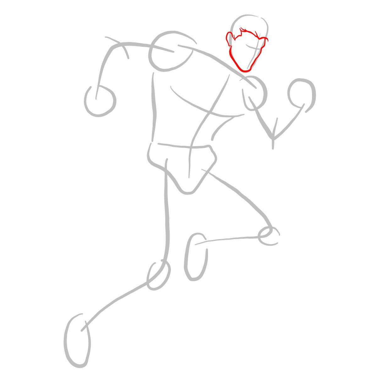 Как нарисовать Пьетро 2