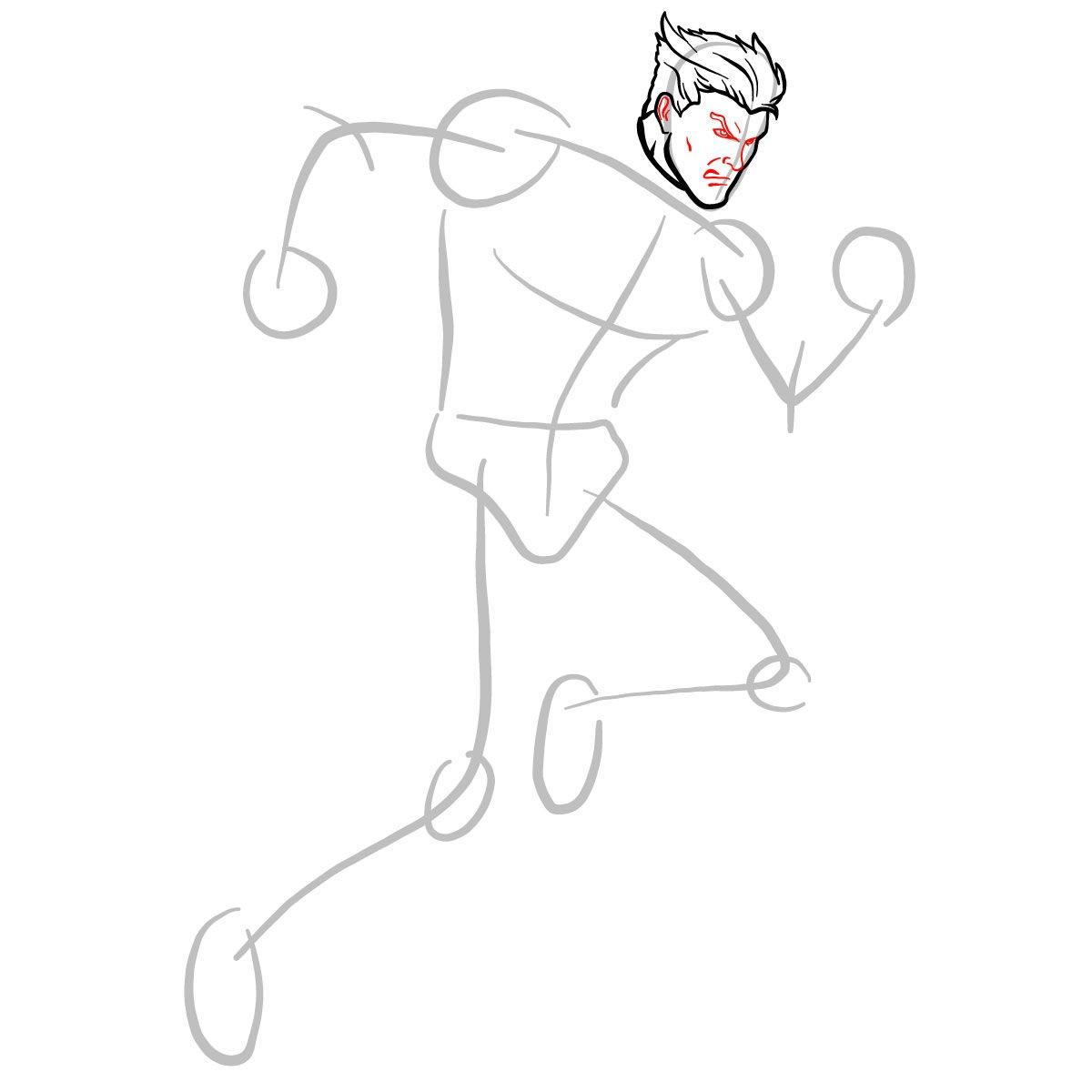 Как нарисовать Пьетро 4
