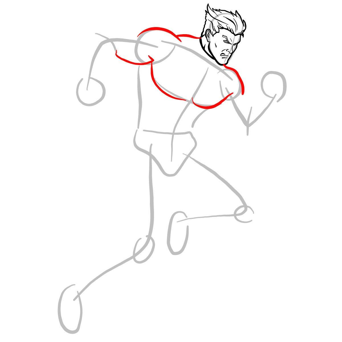 Как нарисовать Пьетро 5