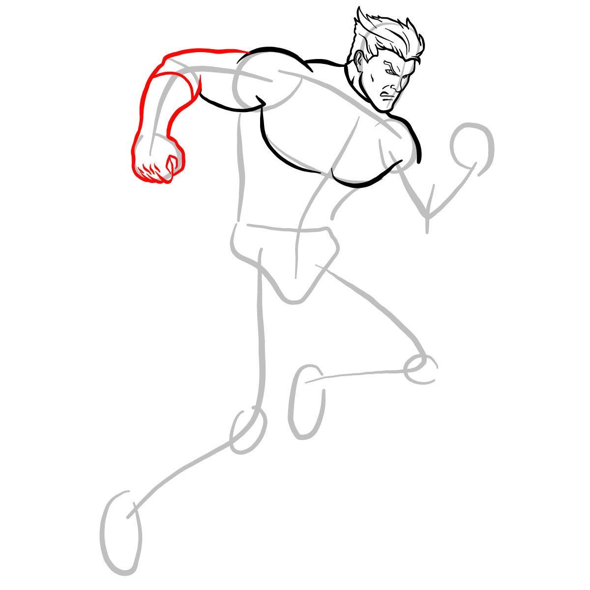 Как нарисовать Пьетро 6