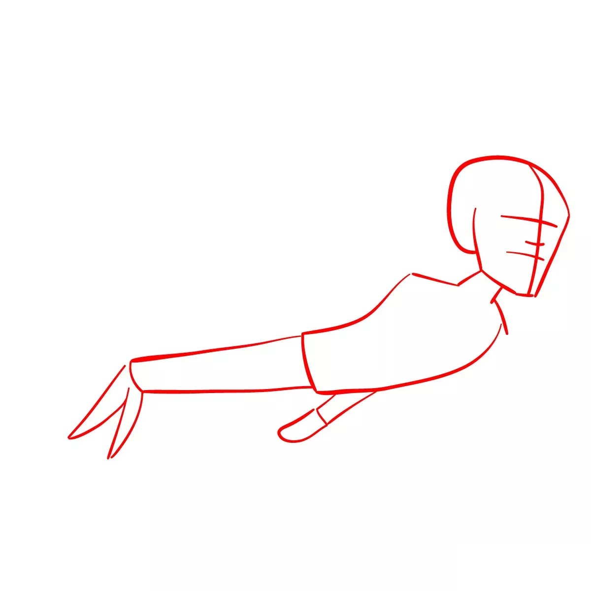 Ванда и Вижн рисуем 1
