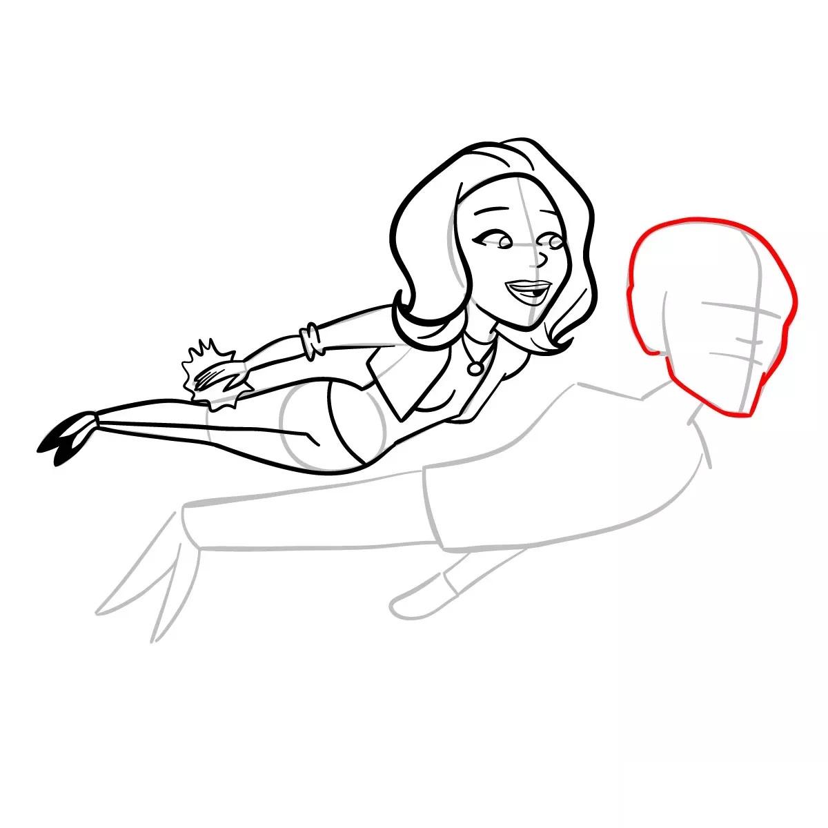 Ванда и Вижн рисуем 12