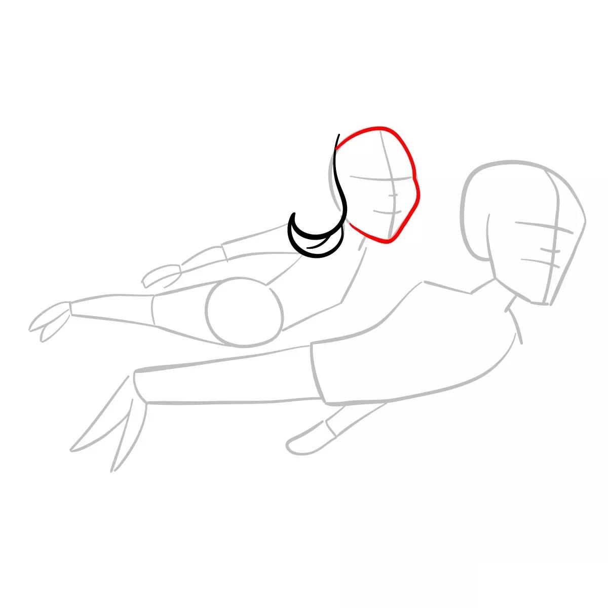 Ванда и Вижн рисуем 4