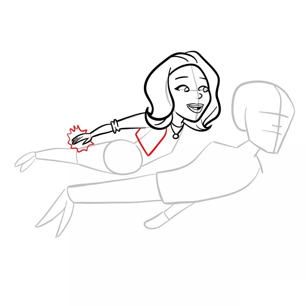 Ванда и Вижн рисуем 9