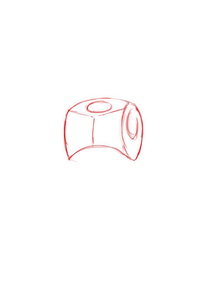 как нарисовать дварфа 1
