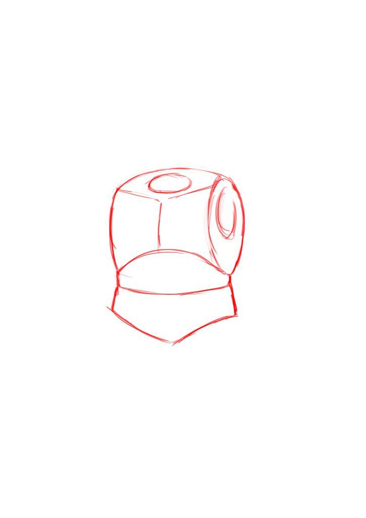как нарисовать дварфа 2