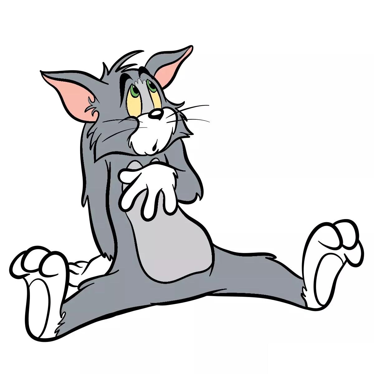 рисуем кота тома 29