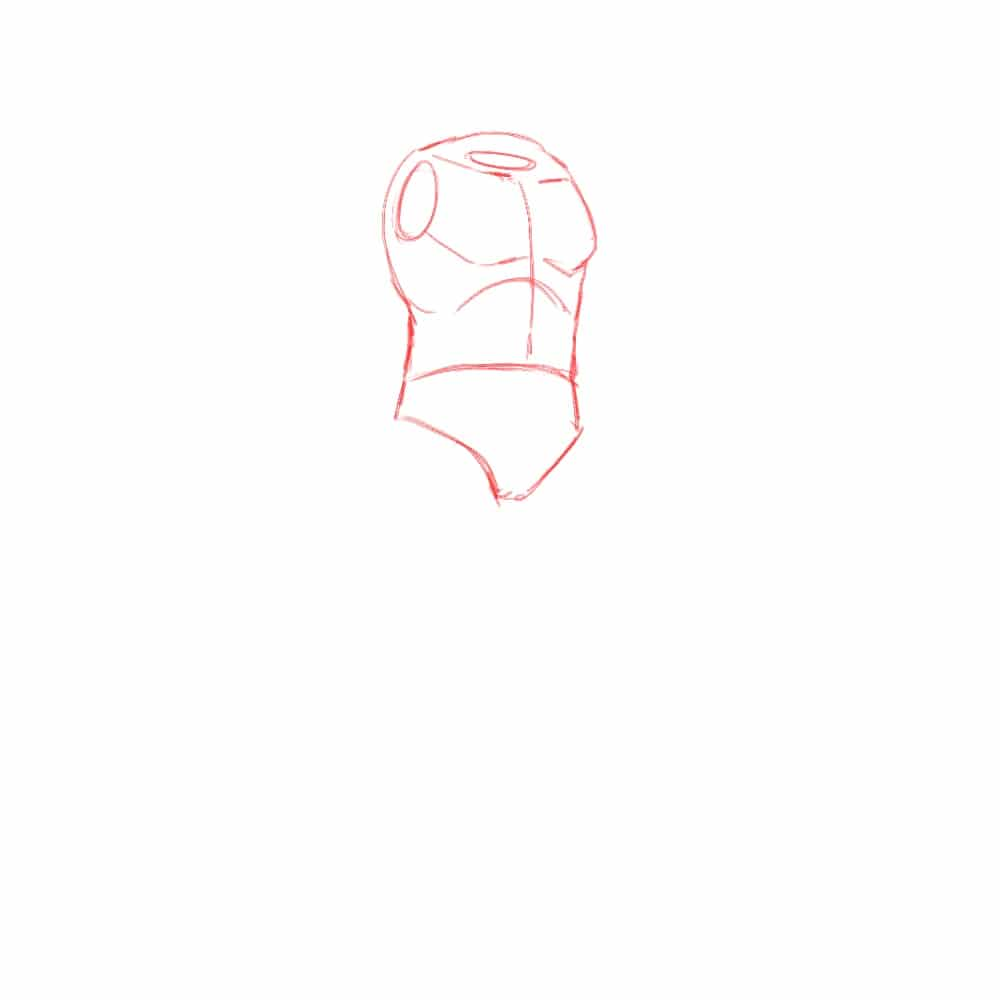 Как нарисовать Конана 1