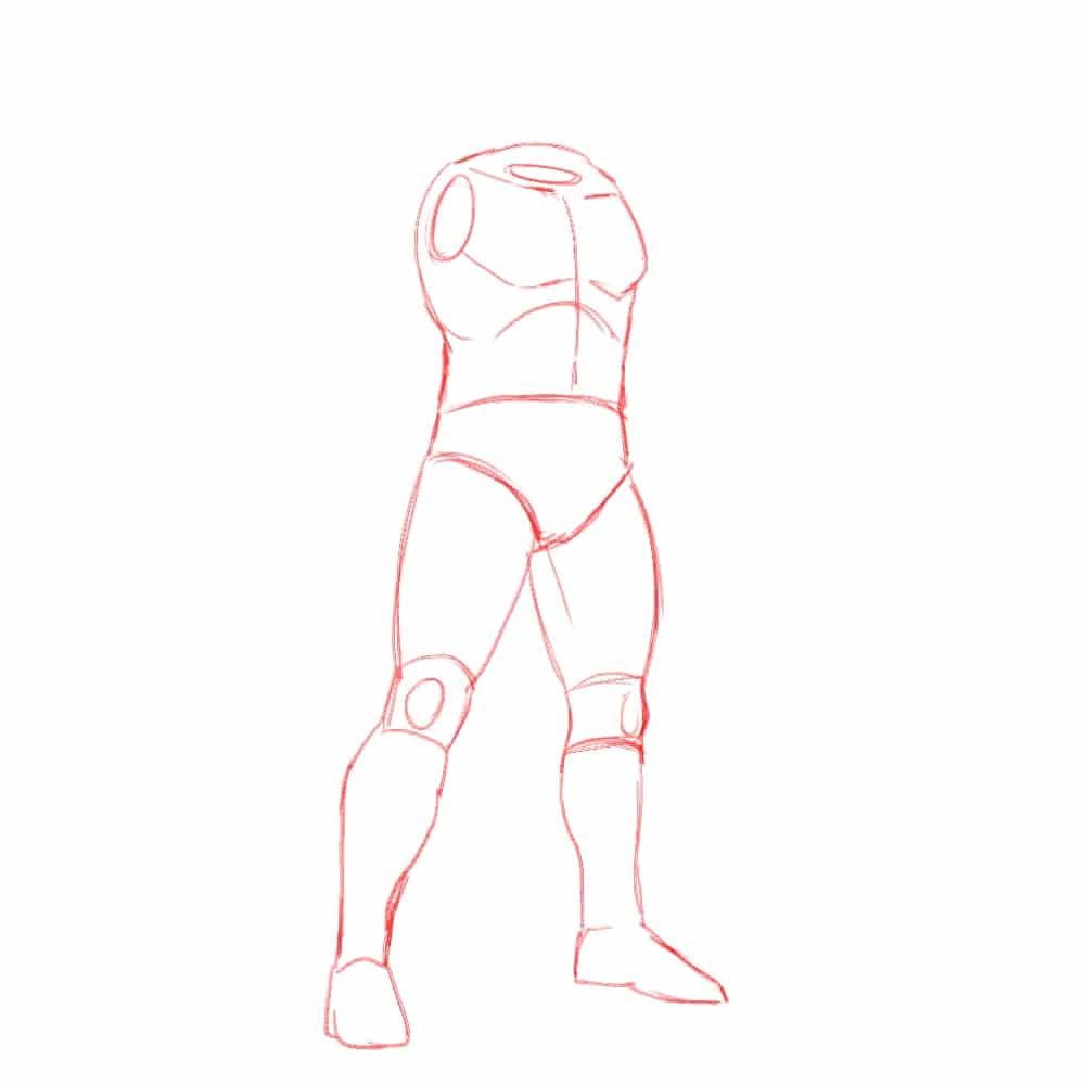 Как нарисовать Конана 2