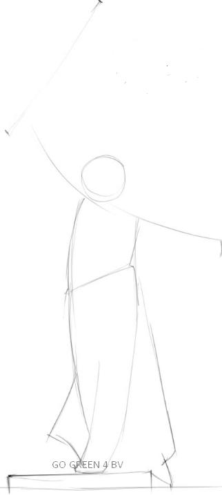 Как нарисовать родину мать 2