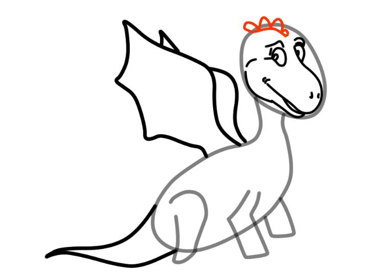 как нарисовать дракона 18
