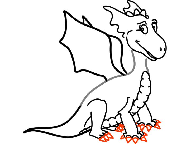 как нарисовать дракона 22