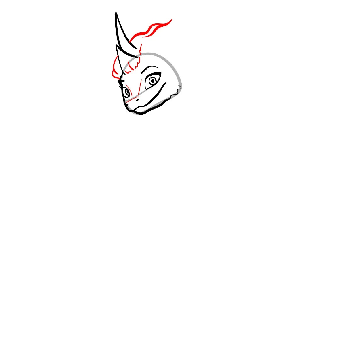 как нарисовать сису 5