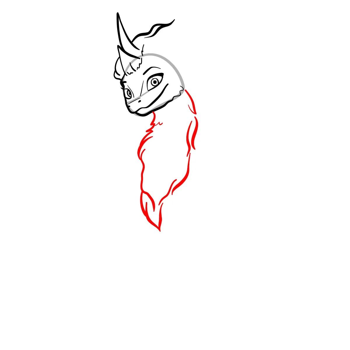 как нарисовать сису 6