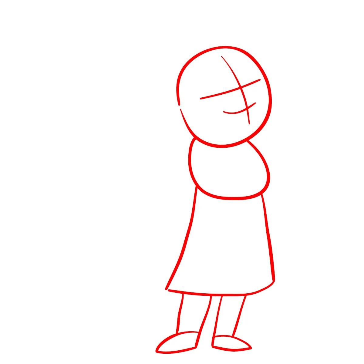 как нарисовать сноволка Мэб 1