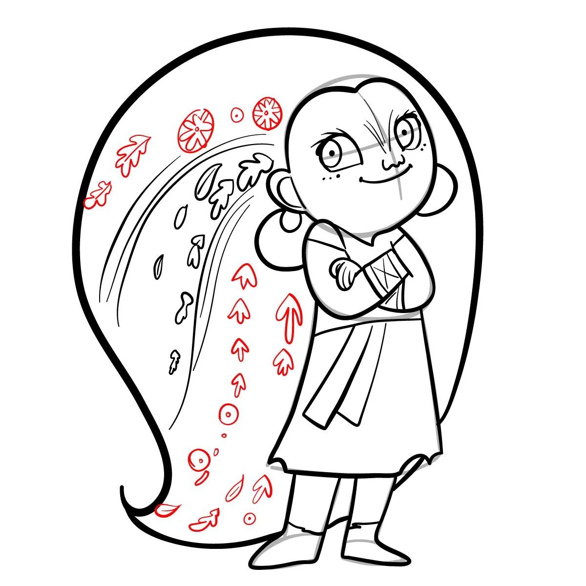 как нарисовать сноволка Мэб 13