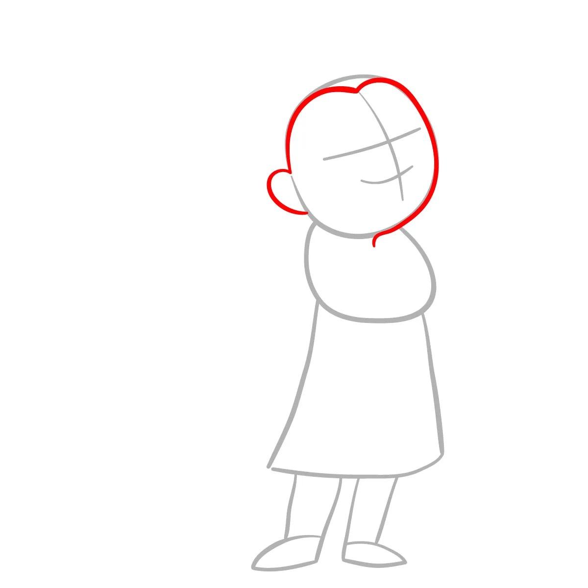 как нарисовать сноволка Мэб 2