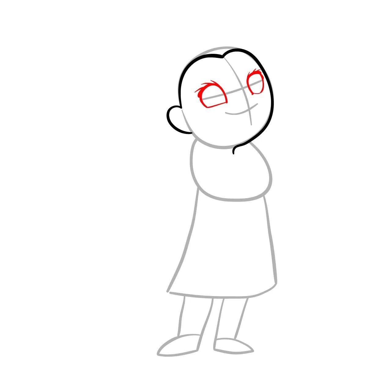 как нарисовать сноволка Мэб 3
