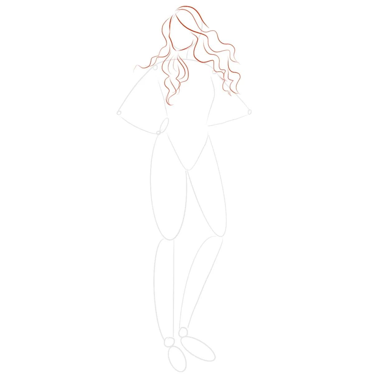 как нарисовать королеву мэйв 2